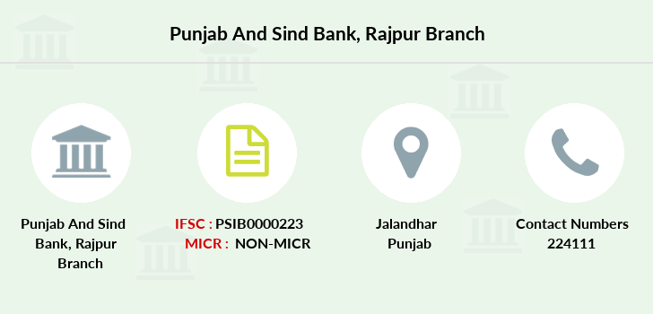 Punjab-and-sind-bank Rajpur branch