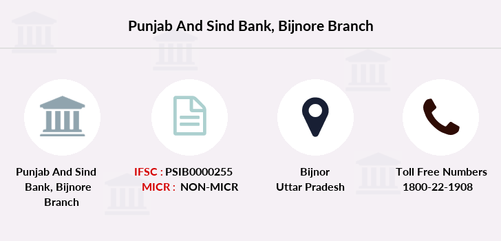 Punjab-and-sind-bank Bijnore branch
