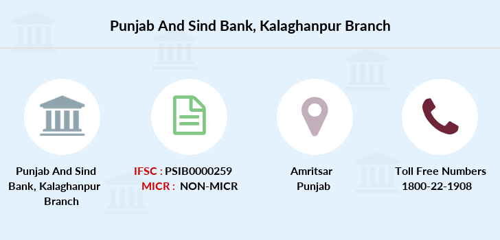 Punjab-and-sind-bank Kalaghanpur branch