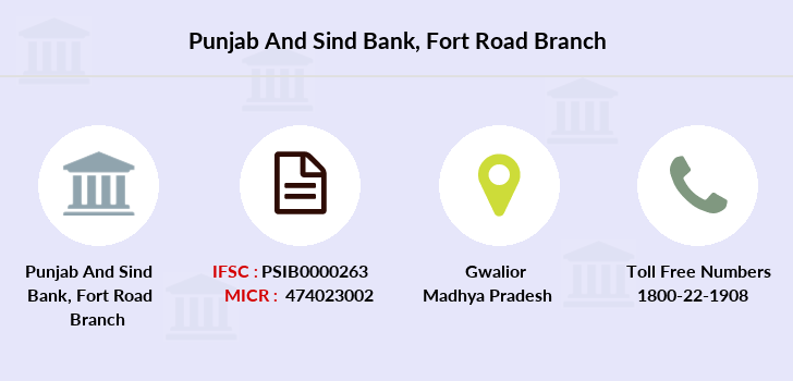 Punjab-and-sind-bank Fort-road branch