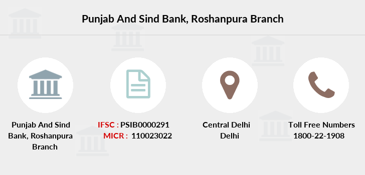 Punjab-and-sind-bank Roshanpura branch