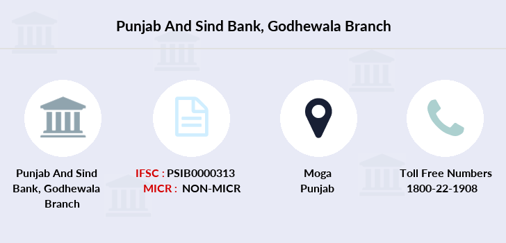 Punjab-and-sind-bank Godhewala branch