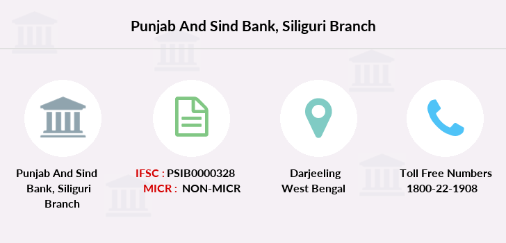 Punjab-and-sind-bank Siliguri branch