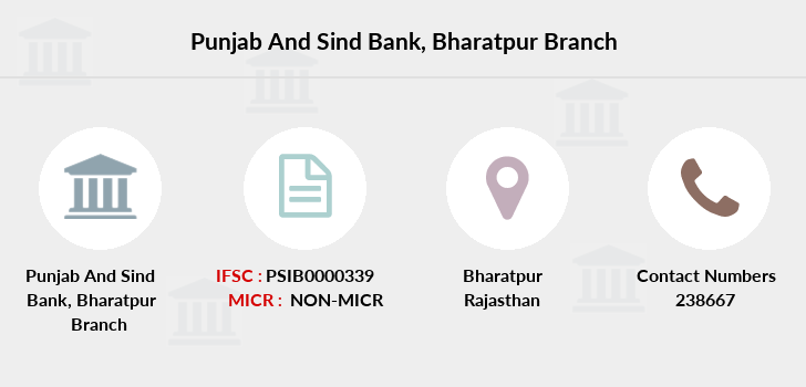 Punjab-and-sind-bank Bharatpur branch