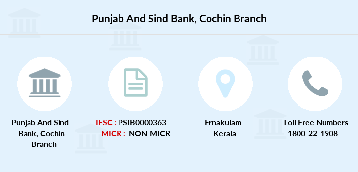 Punjab-and-sind-bank Cochin branch