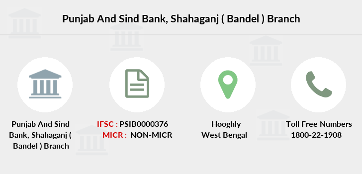 Punjab-and-sind-bank Shahaganj-bandel branch