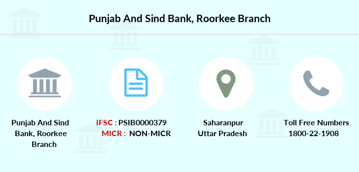 Punjab-and-sind-bank Roorkee branch