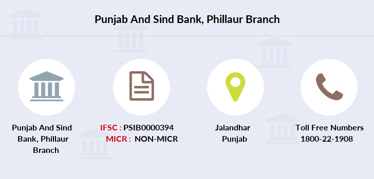 Punjab-and-sind-bank Phillaur-jalandhar branch
