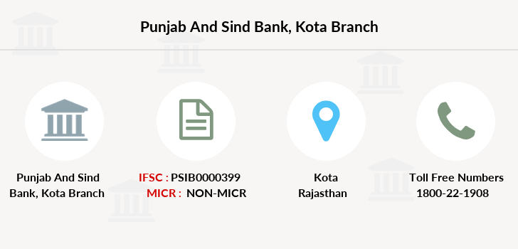 Punjab-and-sind-bank Kota branch
