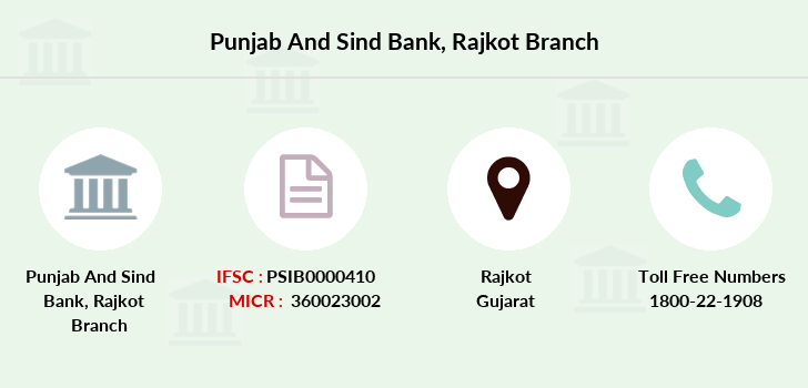 Punjab-and-sind-bank Rajkot branch