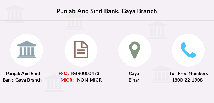 Punjab-and-sind-bank Gaya branch