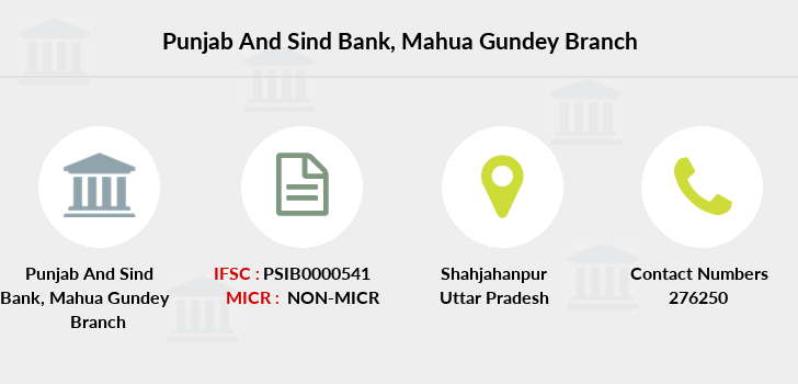 Punjab-and-sind-bank Mahua-gundey branch