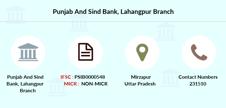 Punjab-and-sind-bank Lahangpur branch