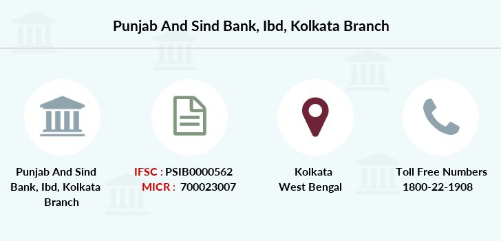 Punjab-and-sind-bank Ibd-kolkata branch