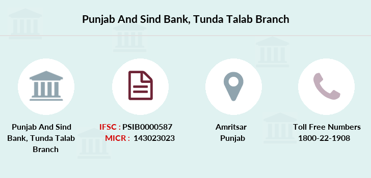 Punjab-and-sind-bank Tunda-talab branch