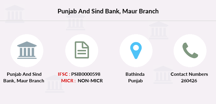 Punjab-and-sind-bank Maur branch