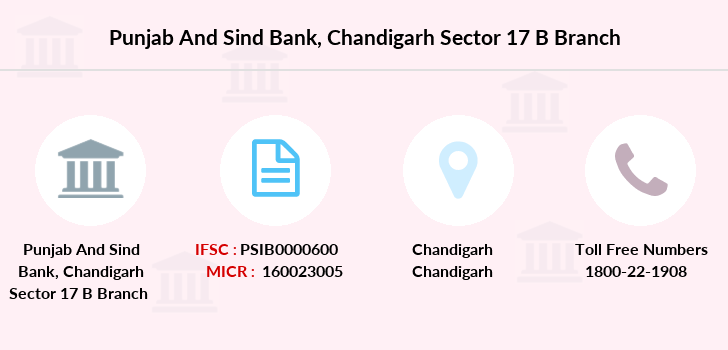 Punjab-and-sind-bank Chandigarh-sector-17-b branch