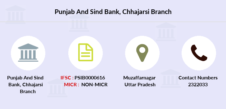 Punjab-and-sind-bank Chhajarsi branch