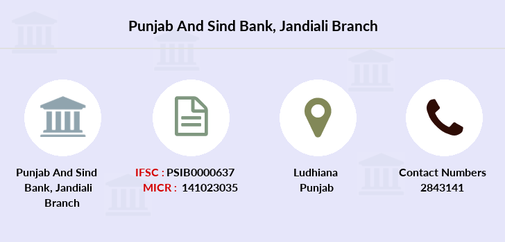 Punjab-and-sind-bank Jandiali branch