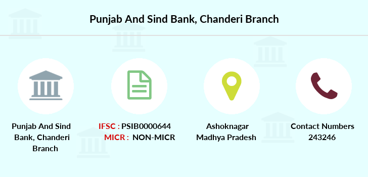 Punjab-and-sind-bank Chanderi branch