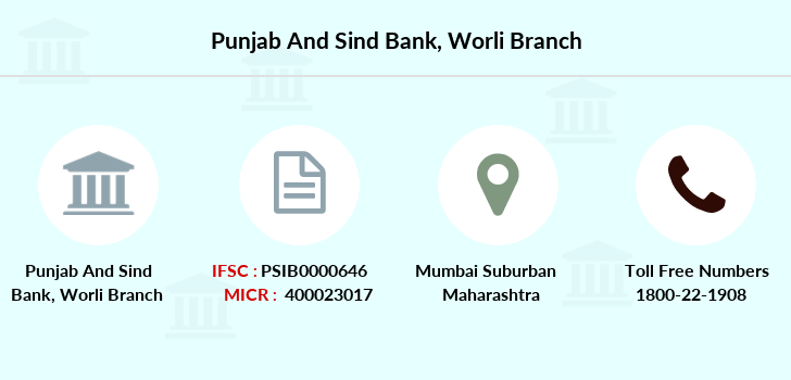 Punjab-and-sind-bank Worli branch