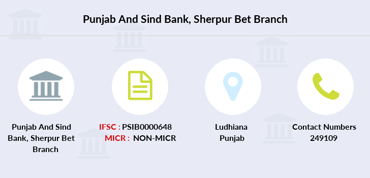 Punjab-and-sind-bank Sherpur-bet branch