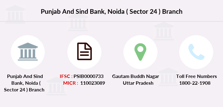 Punjab-and-sind-bank Noida-sector-24 branch