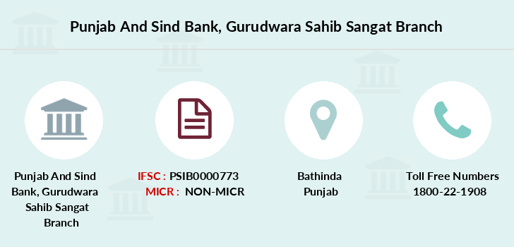 Punjab-and-sind-bank Gurudwara-sahib-sangat branch