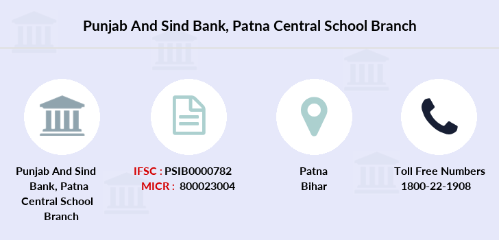 Punjab-and-sind-bank Patna-central-school branch