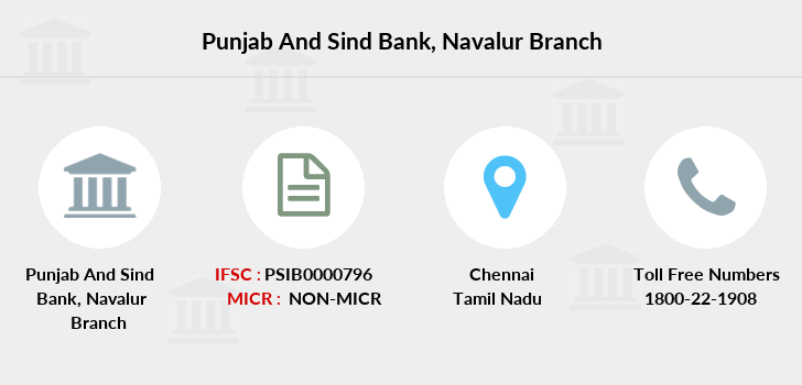 Punjab-and-sind-bank Navalur branch