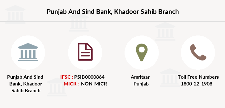 Punjab-and-sind-bank Khadoor-sahib branch