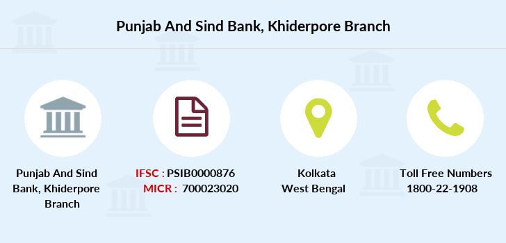 Punjab-and-sind-bank Khiderpore branch
