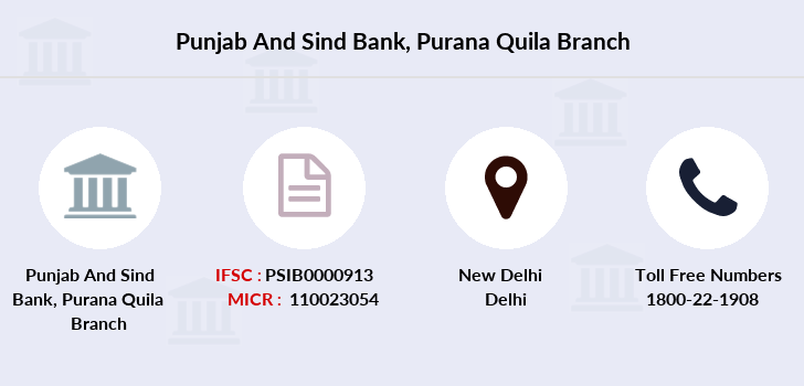 Punjab-and-sind-bank Purana-quila branch