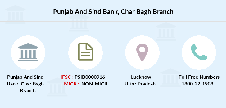 Punjab-and-sind-bank Char-bagh-lucknow branch