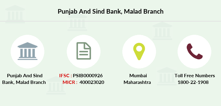 Punjab-and-sind-bank Malad branch