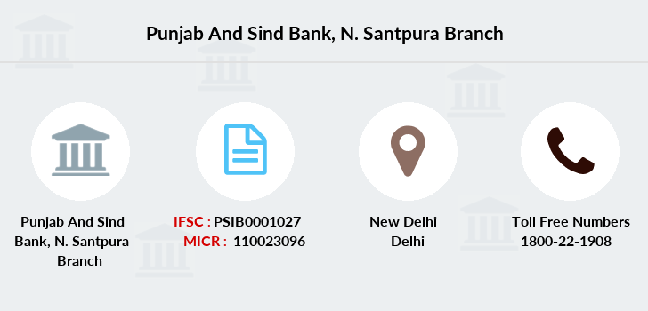Punjab-and-sind-bank N-santpura branch