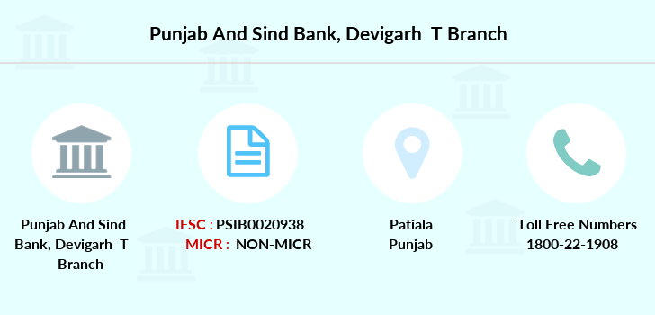 Punjab-and-sind-bank Devigarh-patiala branch