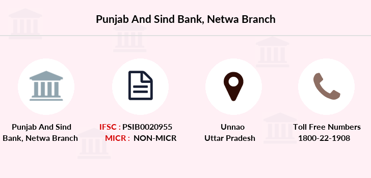 Punjab-and-sind-bank Netwa branch