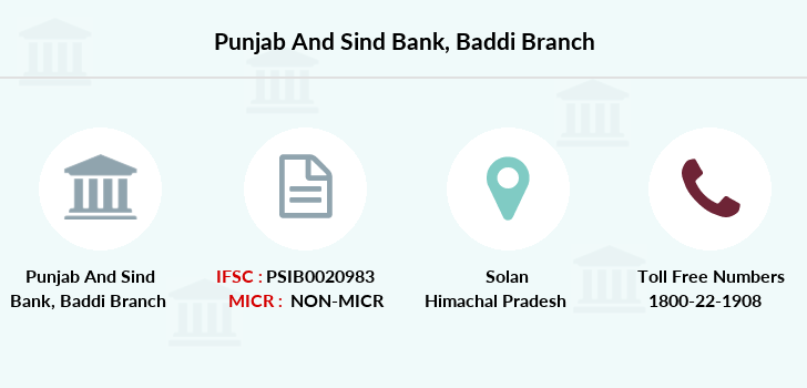 Punjab-and-sind-bank Baddi branch