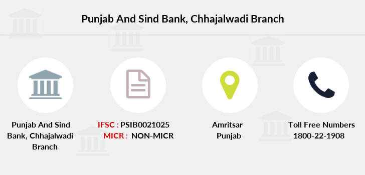 Punjab-and-sind-bank Chhajalwadi branch