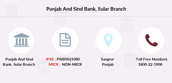 Punjab-and-sind-bank Sular branch