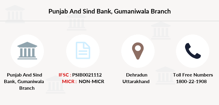 Punjab-and-sind-bank Gumaniwala branch