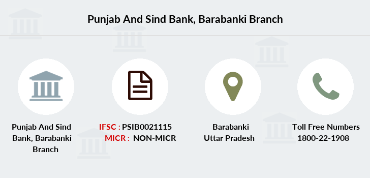 Punjab-and-sind-bank Barabanki branch