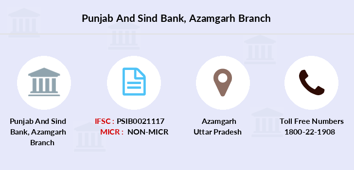 Punjab-and-sind-bank Azamgarh branch