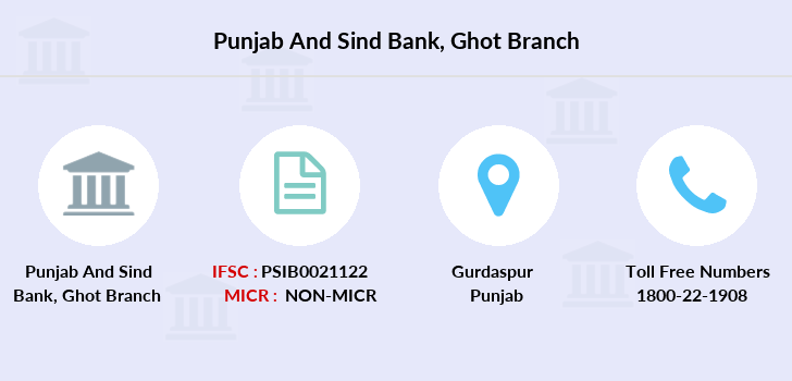 Punjab-and-sind-bank Ghot branch