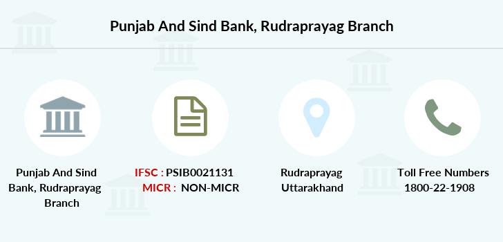 Punjab-and-sind-bank Rudraprayag branch