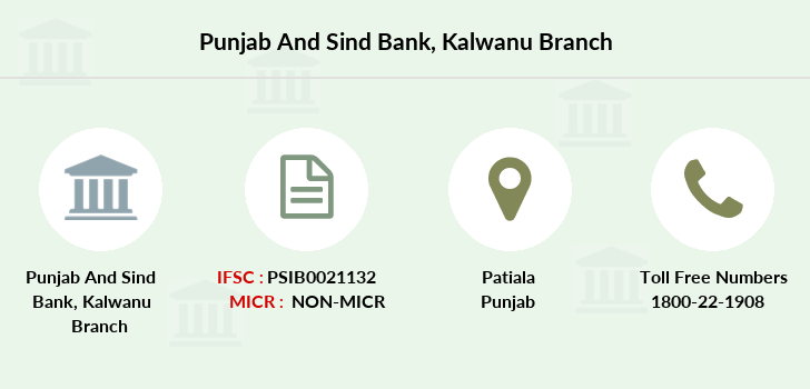 Punjab-and-sind-bank Kalwanu branch