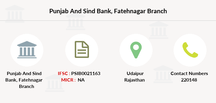 Punjab-and-sind-bank Fatehnagar branch