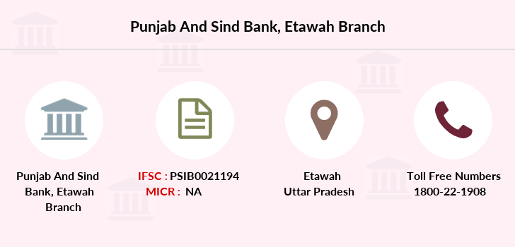 Punjab-and-sind-bank Etawah branch