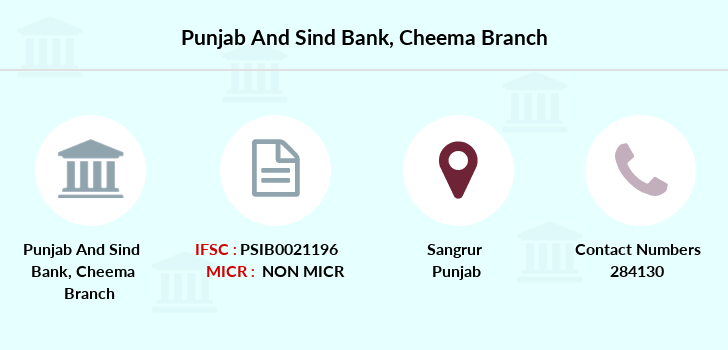 Punjab-and-sind-bank Cheema branch